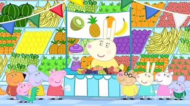 4 45 Fruit - Свинка Пеппа (Peppa Pig) на английском | Peppa Pig russian
