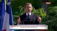 Sarkozy sur l'immigration