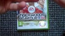 Tiger Woods PGA Tour 14 (Xbox 360) Unboxing
