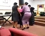 Prophetess Green and others speaking into the lives of others by the spirit of God 7/24/11