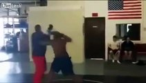 Guy Off Street Gets Knocked Out!