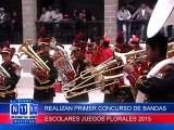 N11 Informativo REALIZAN PRIMER CONCURSO DE BANDAS ESCOLARES JUEGOS FLORALES 2015
