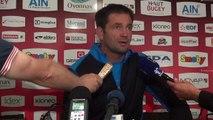 Rugby Top 14 - Franck Azema réagit après Oyonnax - Clermont (1ère partie)