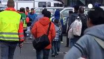 Tausende Flüchtlinge am Münchner Hauptbahnhof