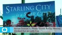 Arrow Season 4: Photo Shows Rutina Wesley Decked Out as Lady Cop