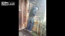Drunk Guy Falls Down Hill - video dailymotion