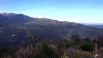 Panorama à 360° au sommet du  Piton de Belmaig dans les Pyrénées Orientales