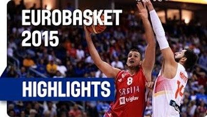 Mal comienzo de España en el Eurobasket con derrota ante Serbia (70-80 )