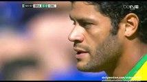Hulk Fantastic Powerfull Free-Kick vs Costa Rica | Brazil v. Costa Rica 05.09.2015 HD