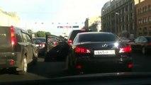 Fun time in traffic