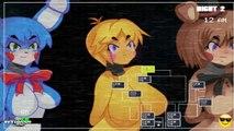 Five Nights in Anime - ALL Animatronics Movement   18  BLCD - manga - DramaCD - Anime - Anime song - amv