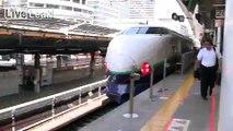 Shinkansen (Japanese Bullet Train) at Various Speeds and Views