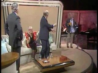 Oliver Reed Drunk on Talk-Shows