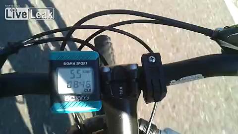 High Speed Bike Riding