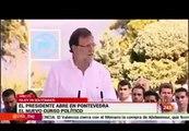 Mariano Rajoy no sabe por qué cae agua del cielo (la lluvia) y cree que nadie lo sabe