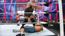 The Rock saves John Cena and gets attacked by CM Punk at 1000th Episode of RAW-7_23_12 WWE wrestling