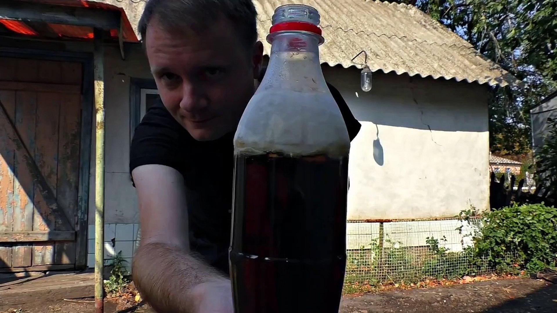 Что будет если в Колу добавить ПРОПАН  Coca Cola + propane  Mega ROCKET