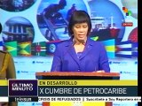 Portia Simpson-Miller destaca el papel de Hugo Chávez en Petrocaribe