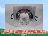 Oberon 1-Gang Recessed luminaire Bathroom Recessed Led-Transformer 12 V 6 Watt COB LED 350