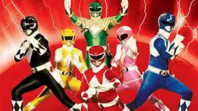 Mighty Morphin Power Rangers : 22 years later