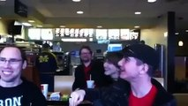 Bronies Sing My Little Pony Theme At McDonalds While Playing With MLP Toys