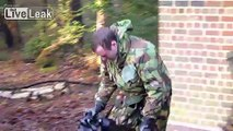 BRITISH ARMY GAS CHAMBER..GAS  GAS  GAS..NOT FUNNY AT THE TIME :o)