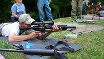 Suppressed 300 Blackout M16 vs Suppressed 22 Cricket at 200 Yards