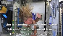 The International Space Station (ISS) Hoax - Space Hair?