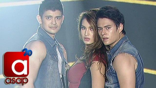 ASAP: Sarah, Enrique, Rayver go sexy on ASAP dance floor