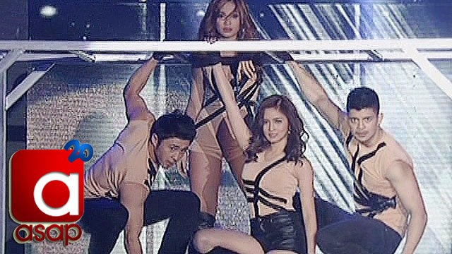 ASAP: Kim, Maja, Arron, Rayver try revolving ladder in ASAP Supahdance