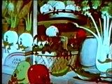 Fleischer cartoon   Color Classic   The Fresh Vegetable Mystery 1939) (old cartoon public domain)