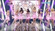 150829 Girls' Generation / SNSD Lion Heart @ KBS Music Bank