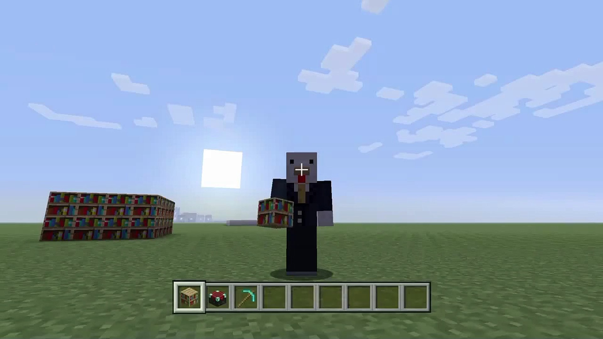 Minecraft Tutorials 3 How To Make A Level 30 Enchanting Room