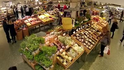 Ungewöhnlicher Flashmob im Supermarkt