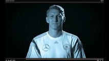 """DFB-TV: Botschaft der """"Mannschaft""""/A-Team setzt Zeichen FÜR Flüchtlinge #Mundaufmachen // Stream ING"""