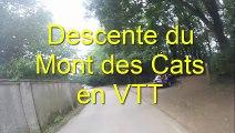 Descente du Mont des Cats en VTT