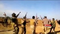 Iraqi War 2015   Dancing Iraqi Soldiers Suddenly Interrupted By IS SVBIED