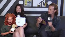 'Outlander' Stars Caitriona Balfe & Sam Heughan Play 'Know Your Co-Star'  Comic-Con 2015