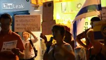 Israeli pro-separatists picketed in Tel Aviv