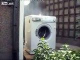 Syrian Sunni Arab citizen freedom fighter soldiers defeat evil Assadist washing machine