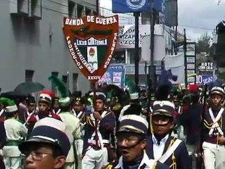 LICEO GUATEMALA XELA 2012 -Guatemala Independence Day Parade - September 15, 2012