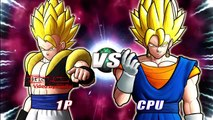 Dragonball Z Raging Blast 2   Gogeta VS Vegito | dragon ball z games
