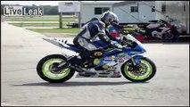Slow Speed Superbike Drifting/Rolling Burnouts