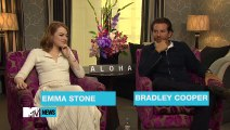 Emma Stone & Bradley Cooper Discuss Spider-Gwen  MTV News
