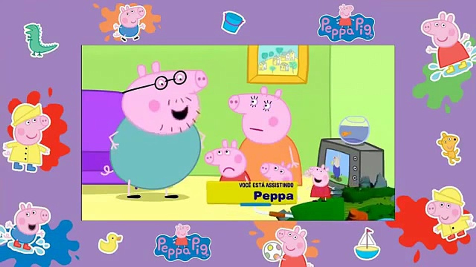 Peppa Pig Papai Pig Campeao Video Dailymotion