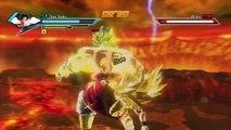 DRAGON BALL XENOVERSE Broly vs Goku super sayen 3