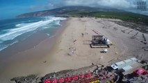 Drone Aerial Footage - Surfing @ Guincho - Portugal