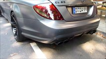 Mercedes CL 65 AMG Start Up and Acceleration Hard Sound