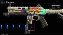 How to Make Dragonball Z Camo - Black Ops 3 Paintshop Tutorial ( Dragonball Z Camo)
