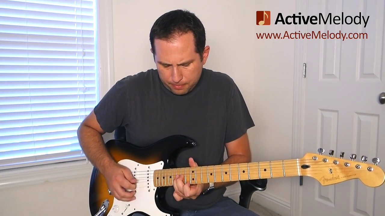 Bending Strings – Guitar Lesson – Practice Exercise – BLG002